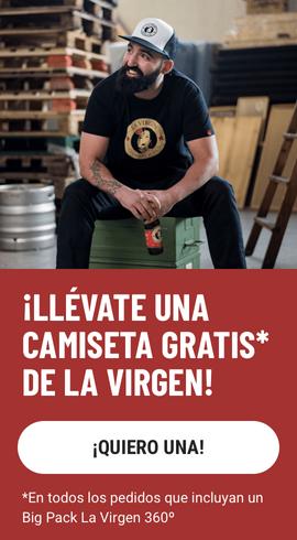 Camiseta Gratis La Virgen