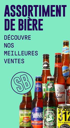 Assortiments de bières