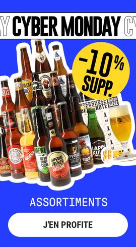 Cyber Monday Assortiments Saveur Bière