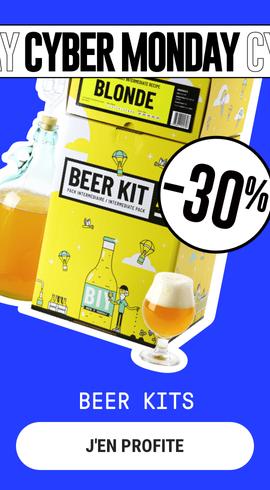 Cyber Monday Beer kits Saveur Bière