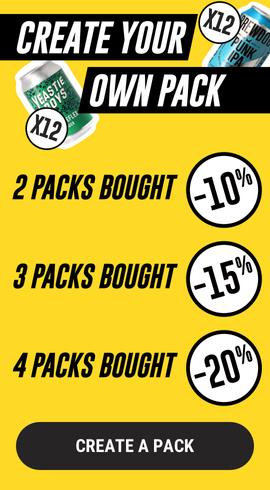 Big Packs Saveur Bière