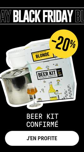 black friday beer kit saveur bière