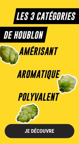 catégories de houblon