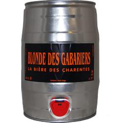 Fûts de bière - Fût 5L Blonde des Gabariers