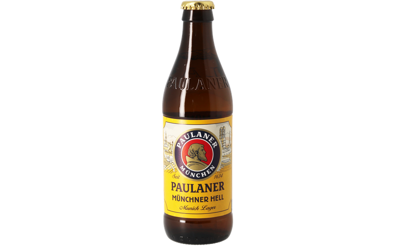 Bottled beer - Paulaner Original Münchner Hell - 33 cL