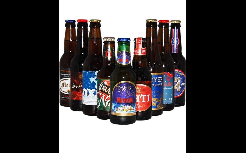 Pack de cervezas artesanales - Assortiment Bières de Noël 2010 2