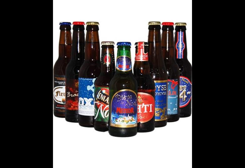 assortiments - Assortiment Bières de Noël 2010 2