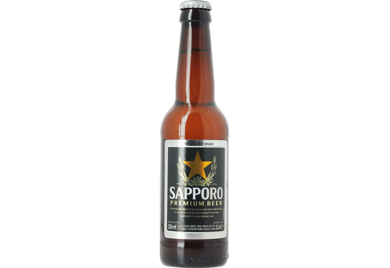 Bouteilles - Sapporo Premium Beer