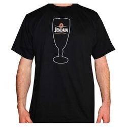 Tee shirt - T Shirt Jenlain - M - logo du verre