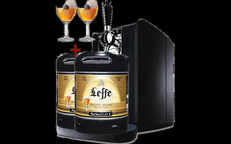 Tireuse à bière Perfectdraft - Perfectdraft HD 3620 + 2 fûts et 2 V Leffe