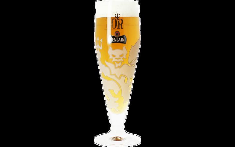 Verres à bière - Verre Jenlain Or