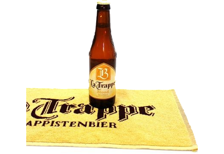 Serviettes et tapis de bar - Serviette de bar La Trappe