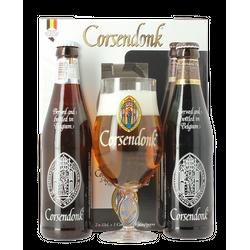 Accessoires et cadeaux - Coffret Corsendonk (2 bières 1 verre)