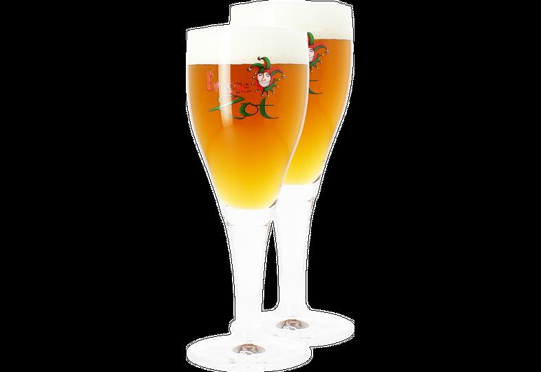 Verres à bière - Pack 2 Verres Brugse Zot - 33 cl