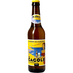 Bottled beer - La Cagole Blonde