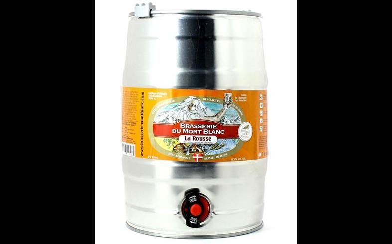 Fûts de bière - Fût 5L Rousse du Mont Blanc