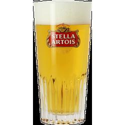 Bierglazen -  Geribd Stella Artois-glas - 33 cl
