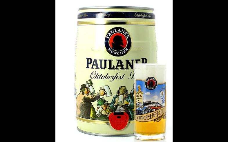Fûts de bière - Chope et Fût 5L Paulaner Oktoberfest
