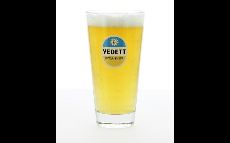 Verres à bière - Verre Vedett Extra White à pied plat - 33cl