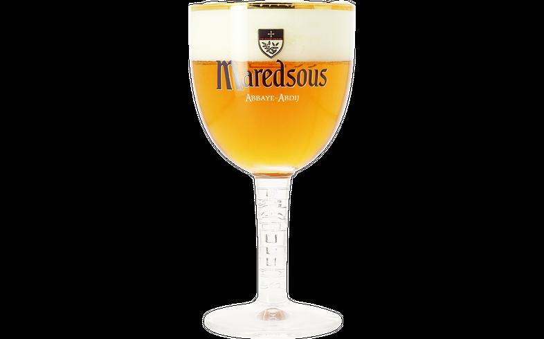 Beer glasses - Maredsous 25cl goblet glass