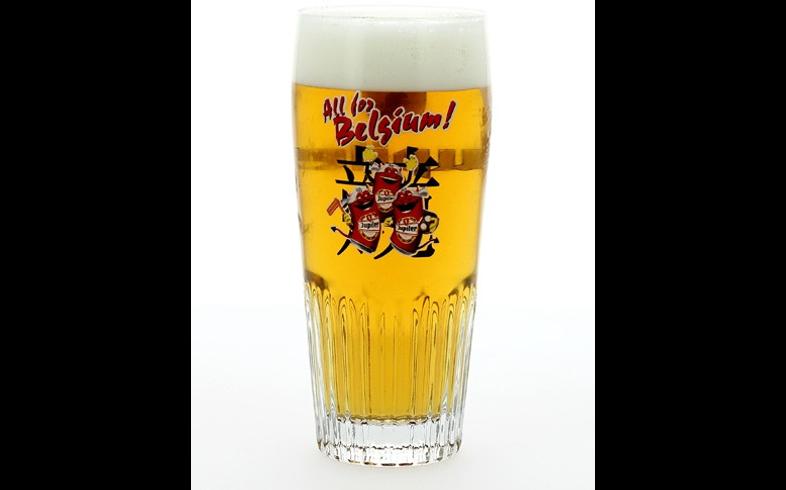 Verres à bière - Verre Jupiler All for Belgium