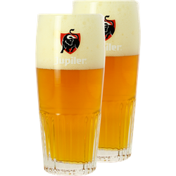 Bicchieri - 2 Bicchieri Jupiler - 25 cl
