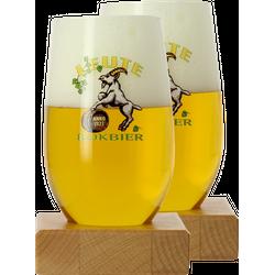 Verres à bière - Pack 2 verres Leute Bokbier - 33cl