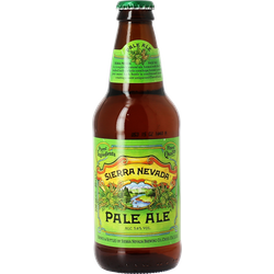 Bottled beer - Sierra Nevada Pale Ale