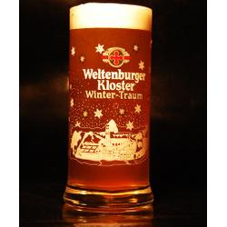 Beer glasses - glass Weltenburger Kloster Rêve d'Hiver