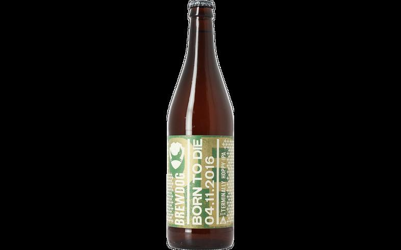 Bottled beer - Brewdog Born To Die 04.11.2016