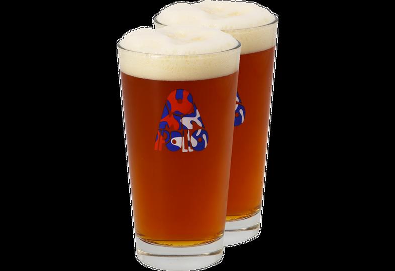 Ölglas - Omnipollo 40cl beer tasting glass x2