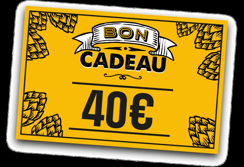 Carte regalo - E-carta regalo 40 euro