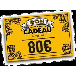 Cartes cadeaux - E-carte cadeau 80 euros
