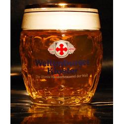 Beer glasses - glass Weltenburger Kloster Bock