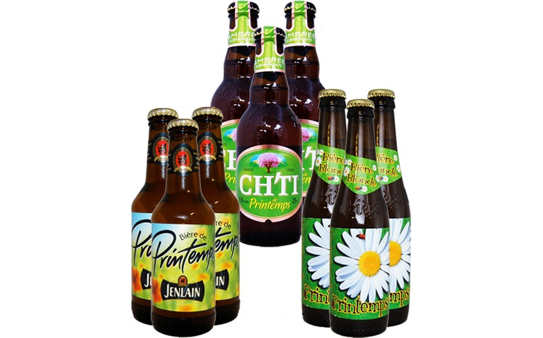 Cerveza de primavera - 9 bières de Printemps