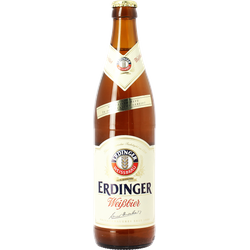 Bottled beer - Erdinger Weissbier
