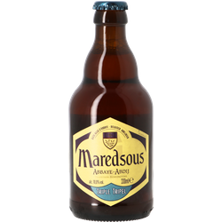 Bottled beer - Maredsous triple 10°