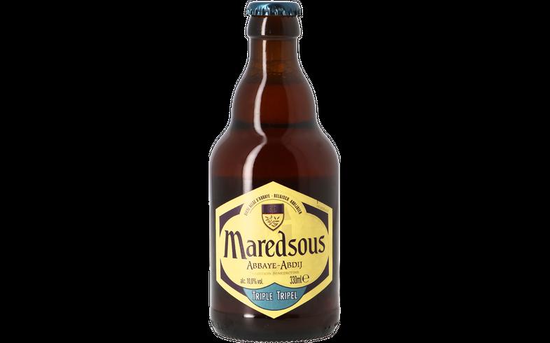 Bottled beer - Maredsous triple 10°