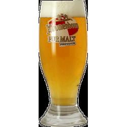 Beer glasses - glass Kronenbourg - 25 cl