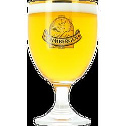 Verres à bière - Verre Grimbergen col doré - 50 cl