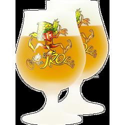 Biergläser - 2 Cuvée des Trolls 50 cl Glases