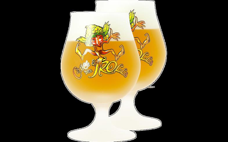 Verres à bière - Pack 2 Verres Cuvée des Trolls - 50 cl