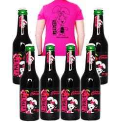 La Levrette - Pack 6 Levrette Cherry + T-shirt F