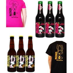 La Levrette - Pack 3 Levrette + 3 Cherry + 2 T-Shirts