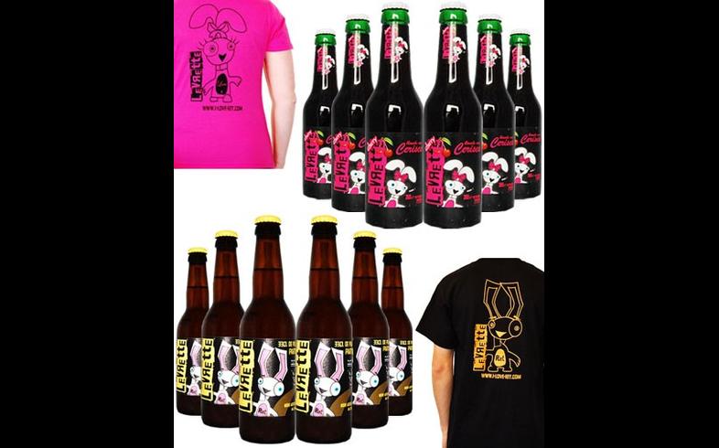 La Levrette - Pack 6 Levrette + 6 Cherry + 2 T-Shirts