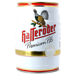 Fatöl - keg 5L Hasseroder Premium Pils
