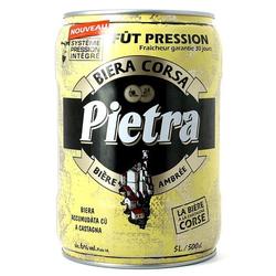 Fûts de bière - Fût 5L Pietra Ambrée Fontaine SPI