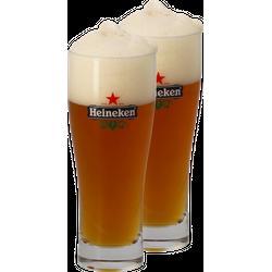 Verres à bière - Pack 2 Verres Heineken Ellipse - 25 cl