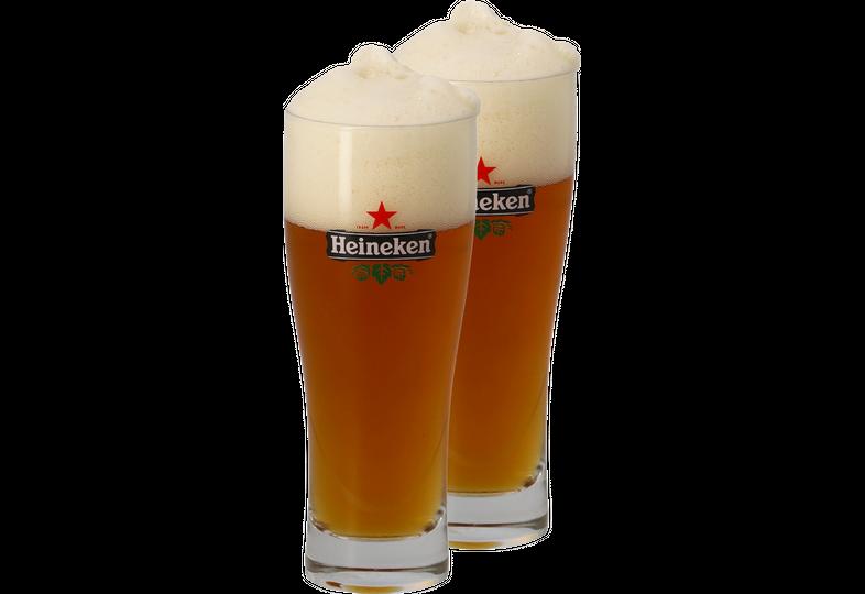 Bicchieri - 2 Bicchieri Heineken - 25cl