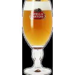 Bierglazen - Glas Stella Artois voetglas - 33 cl